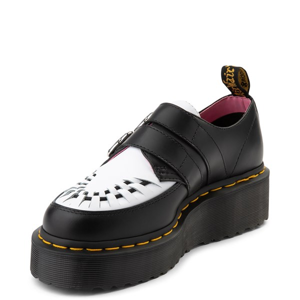 alternate view Womens Dr. Martens x Lazy Oaf Buckle Creeper Casual ShoeALT3