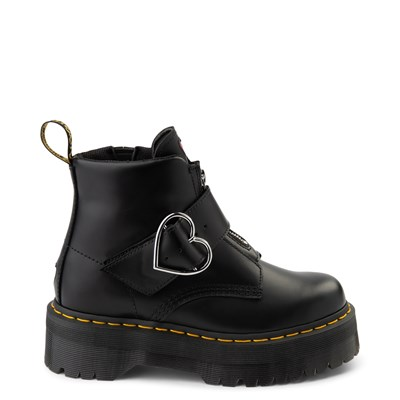 Main view of Womens Dr. Martens x Lazy Oaf Buckle Boot