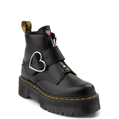 Alternate view of Womens Dr. Martens x Lazy Oaf Buckle Boot