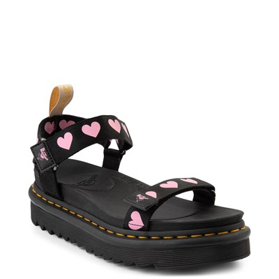 Alternate view of Womens Dr. Martens x Lazy Oaf Heart Sandal