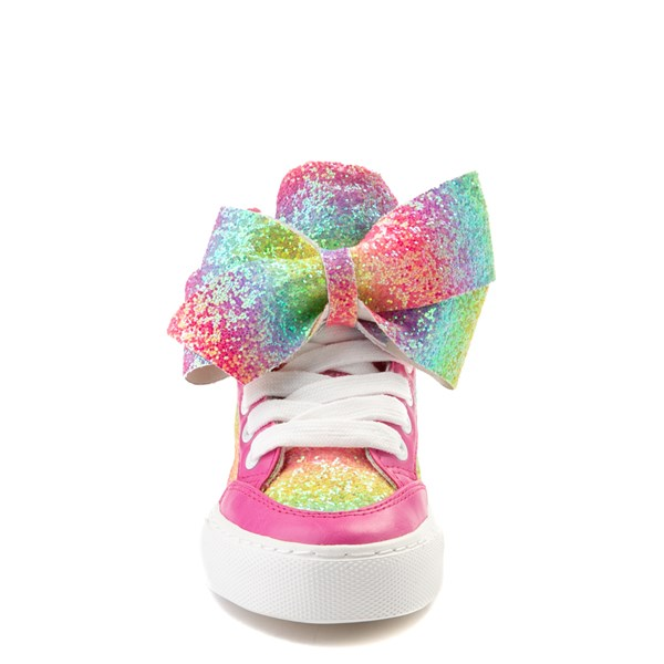 alternate view JoJo Siwa™ Glitter Bow Hi Sneaker - Little Kid / Big KidALT4