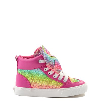 Main view of JoJo Siwa™ Glitter Bow Hi Sneaker - Little Kid / Big Kid