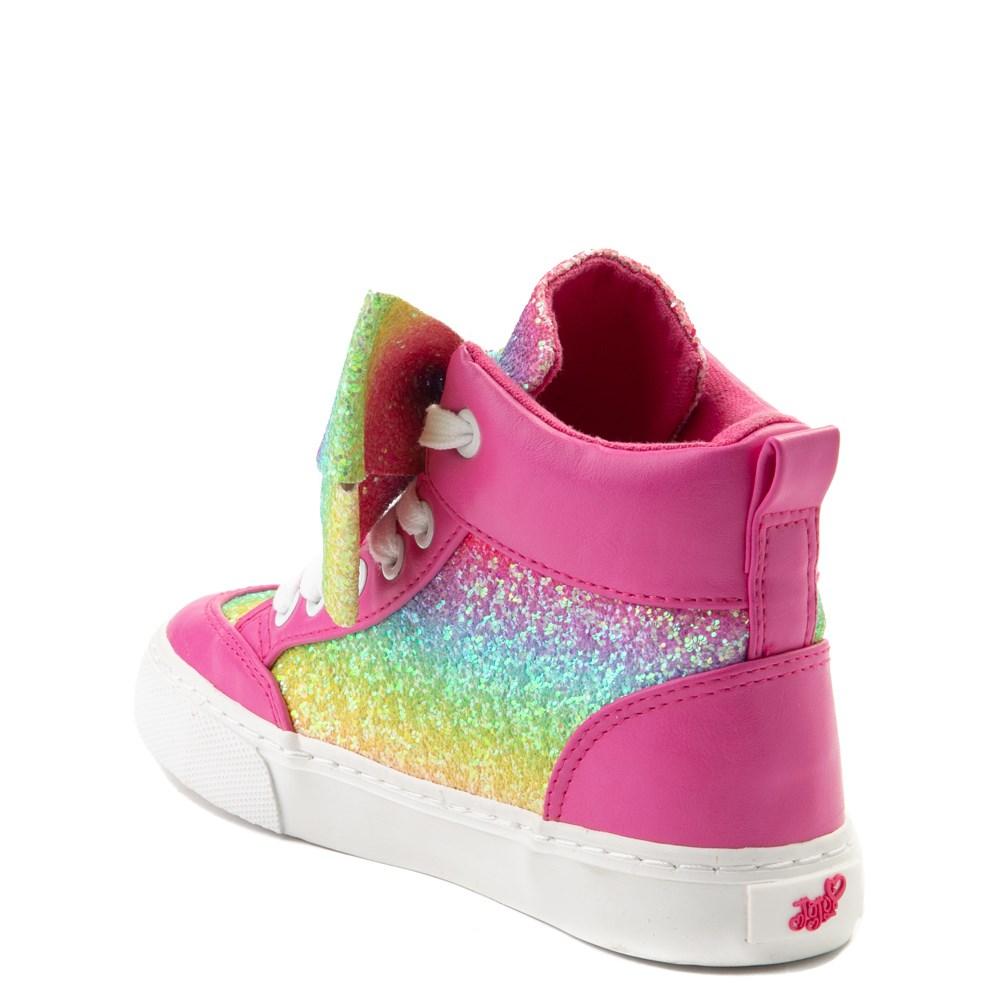 11 Jojo Siwa Tie Dye Pink Bow High Top