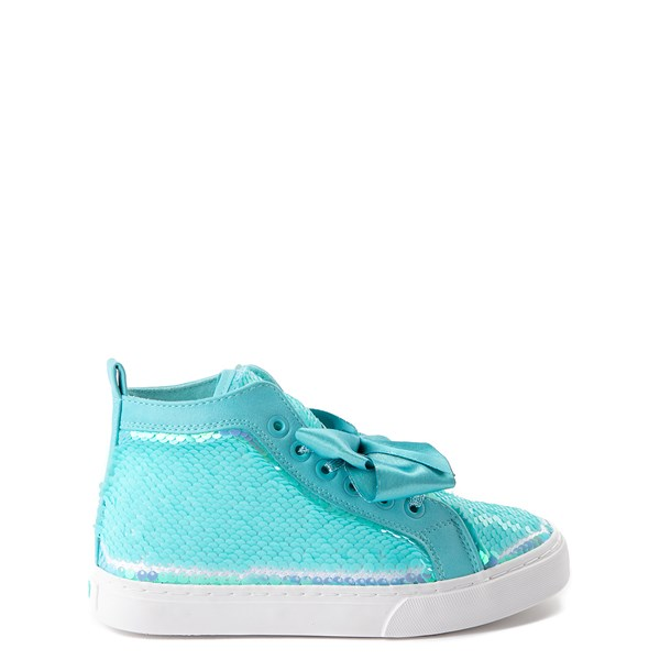 alternate view JoJo Siwa™ Sequin Bow Hi Sneaker - Little Kid / Big KidALT1