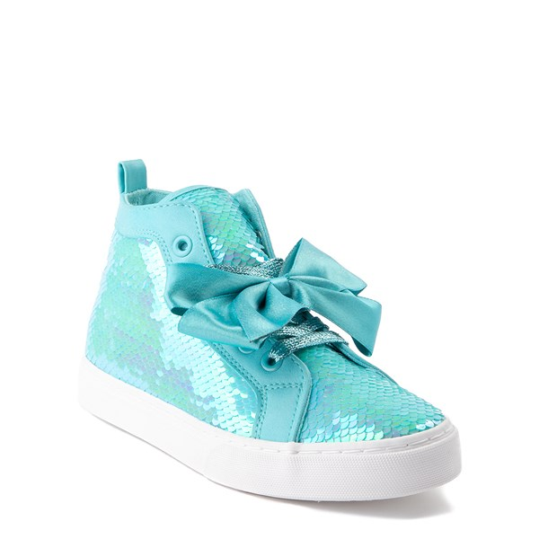 alternate view JoJo Siwa™ Sequin Bow Hi Sneaker - Little Kid / Big KidALT1B