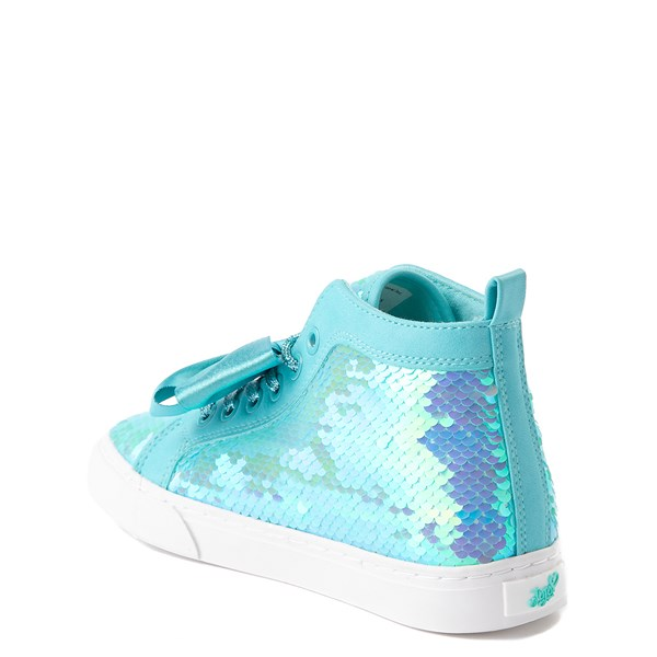 alternate view JoJo Siwa™ Sequin Bow Hi Sneaker - Little Kid / Big KidALT2
