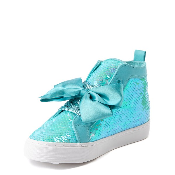 alternate view JoJo Siwa™ Sequin Bow Hi Sneaker - Little Kid / Big KidALT3