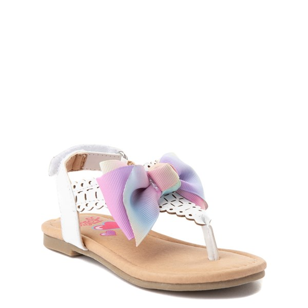 Alternate view of JoJo Siwa™ Bow Sandal - Toddler / Little Kid