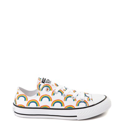 Main view of Converse Chuck Taylor All Star Lo Rainbow Sneaker - Little Kid