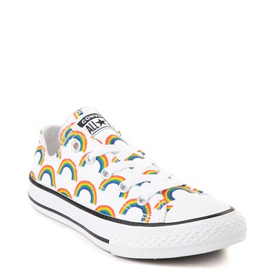 Alternate view of Converse Chuck Taylor All Star Lo Rainbow Sneaker - Little Kid