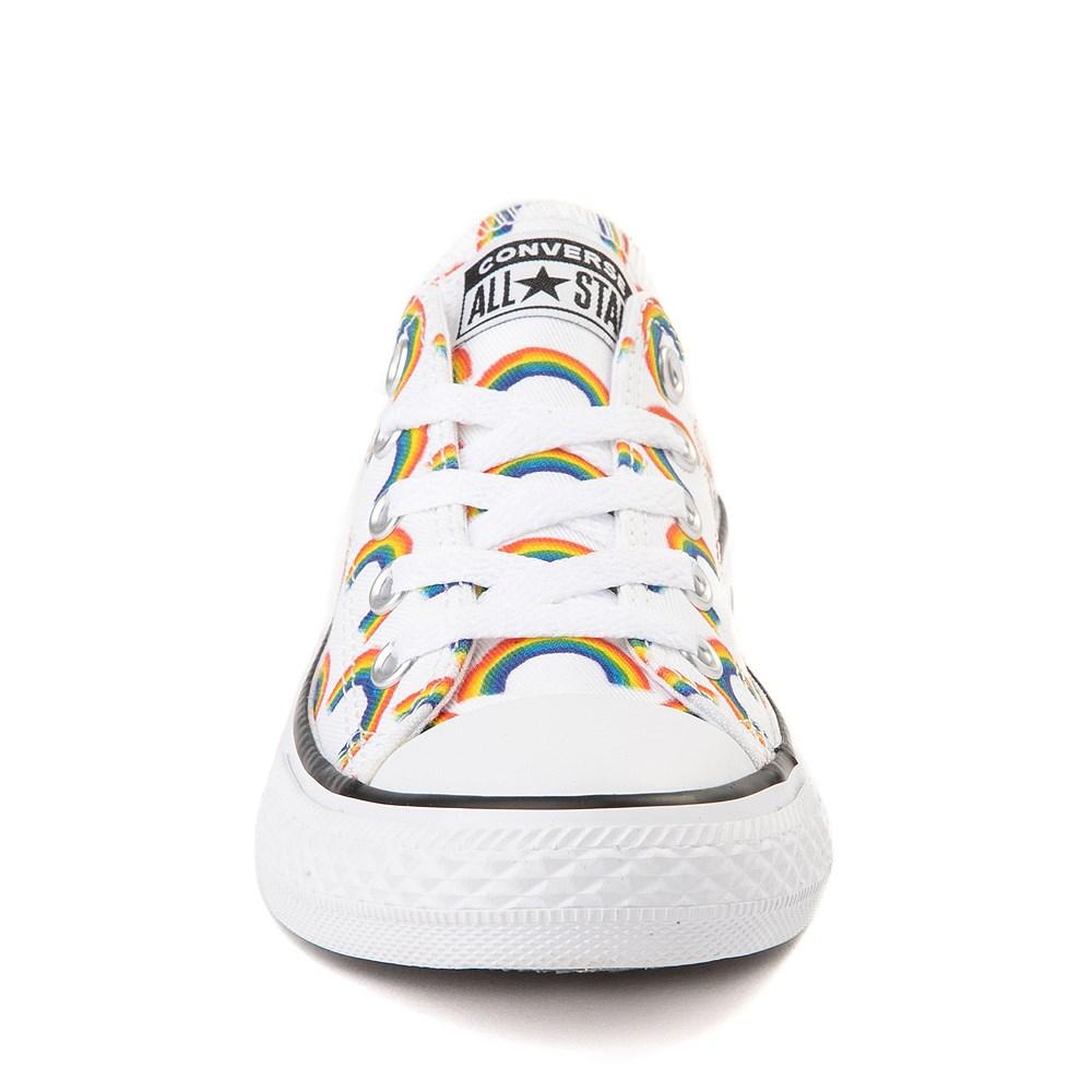 converse chuck taylor all star lo rainbow sneaker