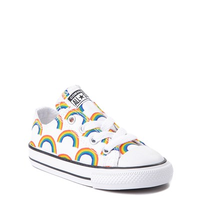 Alternate view of Converse Chuck Taylor All Star Lo Rainbow Sneaker - Baby / Toddler