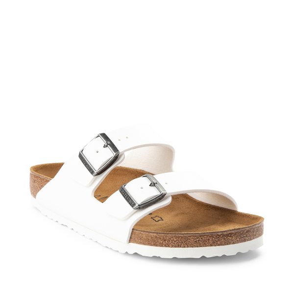 alternate view Mens Birkenstock Arizona Sandal - WhiteALT5