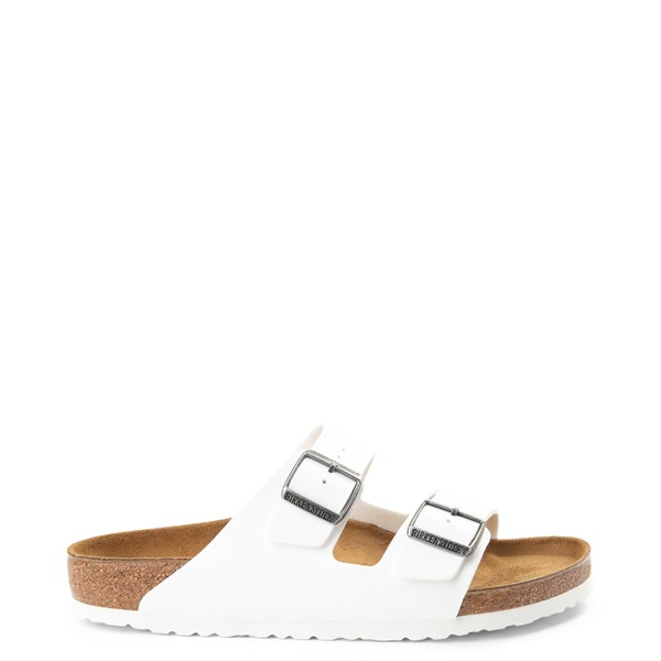 Main view of Mens Birkenstock Arizona Sandal - White