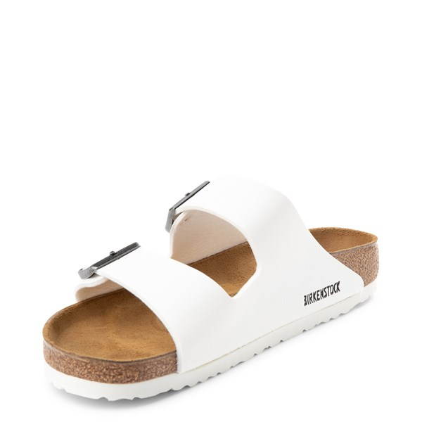 alternate view Mens Birkenstock Arizona Sandal - WhiteALT3