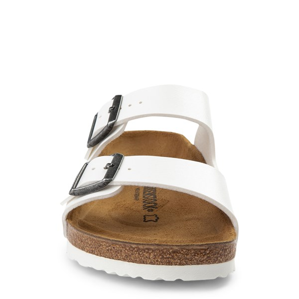 alternate view Mens Birkenstock Arizona Sandal - WhiteALT4