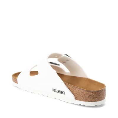 Alternate view of Mens Birkenstock Arizona Sandal - White