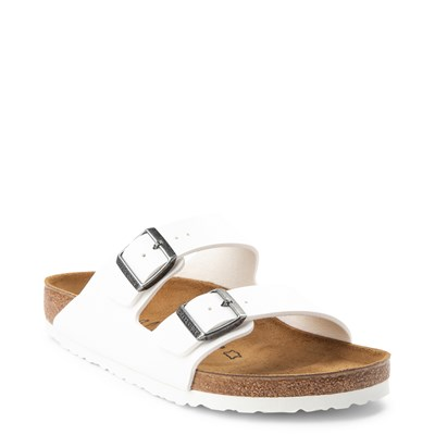 Alternate view of Mens Birkenstock Arizona Sandal - White