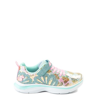 Main view of Skechers Double Dreams Mermaid Music Sneaker - Little Kid