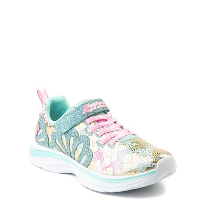Alternate view of Skechers Double Dreams Mermaid Music Sneaker - Little Kid