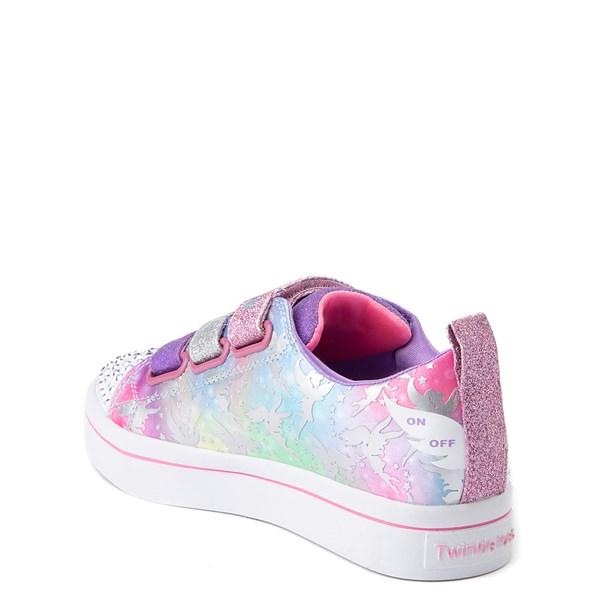 alternate view Skechers Twinkle Toes Twi-Lites Fairy Wishes Sneaker - Little Kid - MultiALT2