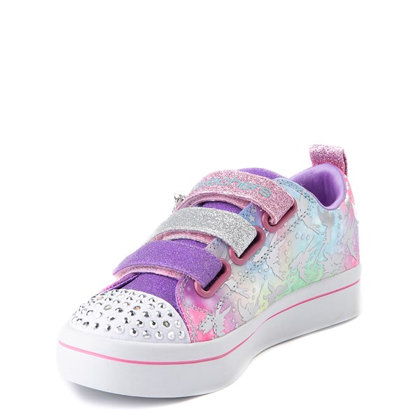 alternate view Skechers Twinkle Toes Twi-Lites Fairy Wishes Sneaker - Little KidALT3