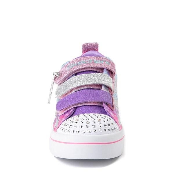 alternate view Skechers Twinkle Toes Twi-Lites Fairy Wishes Sneaker - Little Kid - MultiALT4