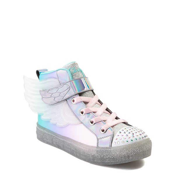 alternate view Skechers Twinkle Toes Sparkle Wings Hi Sneaker - Little KidALT1B