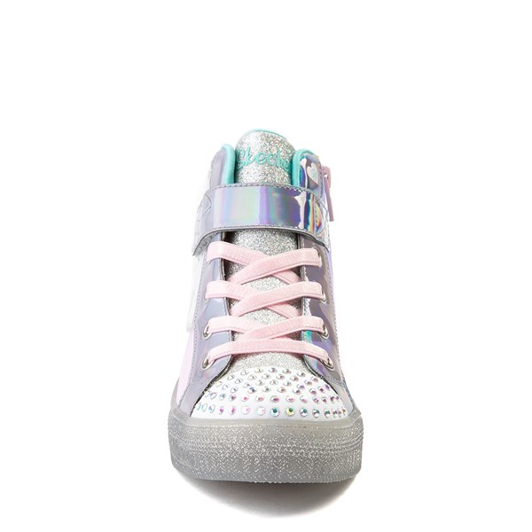alternate view Skechers Twinkle Toes Sparkle Wings Hi Sneaker - Little KidALT4