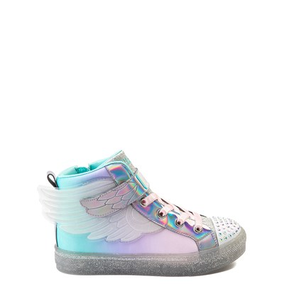 Main view of Skechers Twinkle Toes Sparkle Wings Hi Sneaker - Little Kid