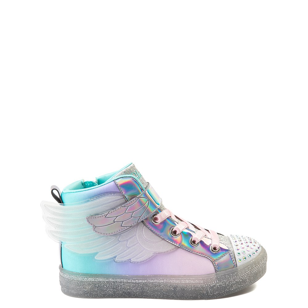 Skechers Twinkle Toes Sparkle Wings Hi Sneaker - Little Kid