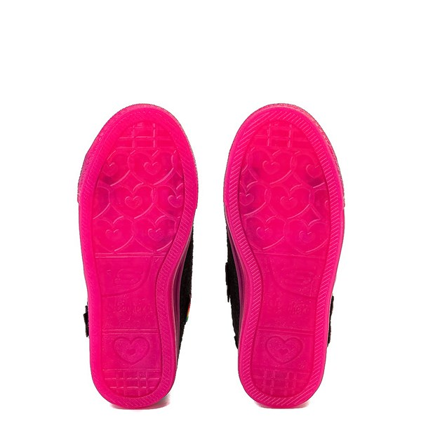 alternate view Skechers Twinkle Toes Shuffle Brights Patches Sneaker - Little KidALT5