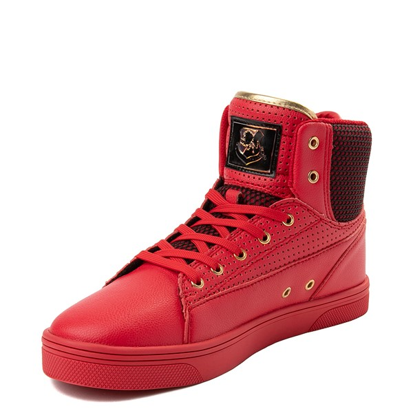 alternate view Mens Vlado Jazz Athletic Shoe - Red / BlackALT2