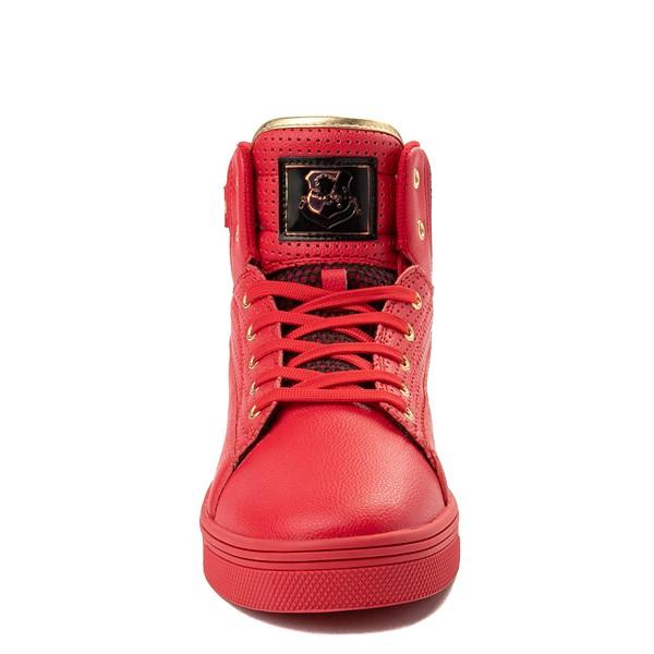 alternate view Mens Vlado Jazz Athletic Shoe - Red / BlackALT4