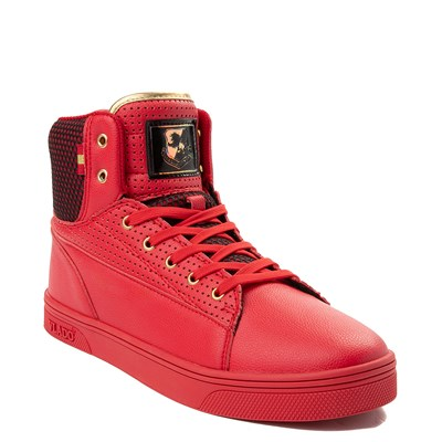 Alternate view of Mens Vlado Jazz Athletic Shoe - Red / Black