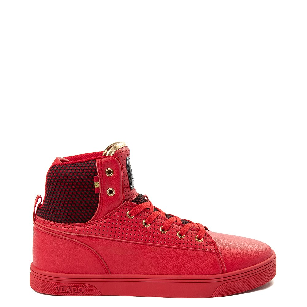 Mens Vlado Jazz Athletic Shoe - Red / Black