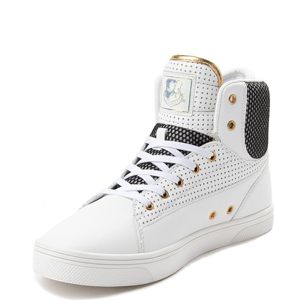 alternate view Mens Vlado Jazz Athletic Shoe - White / BlackALT2
