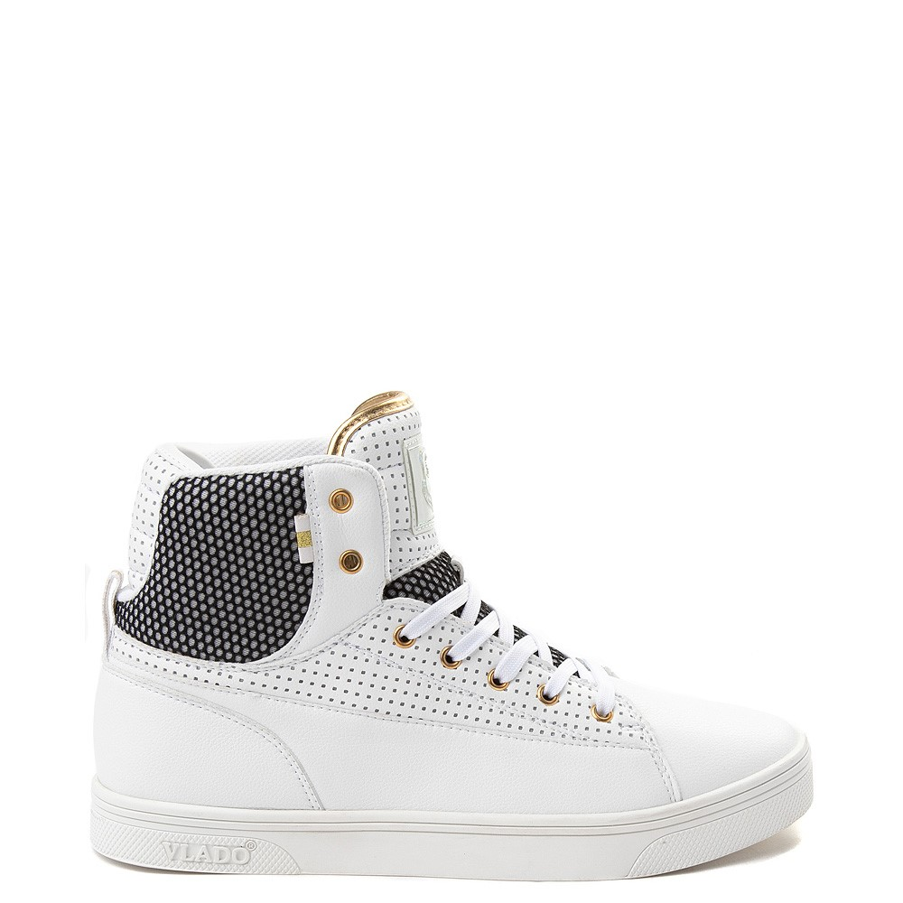 Mens Vlado Jazz Athletic Shoe - White / Black