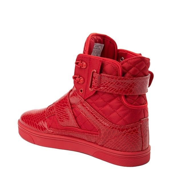 alternate view Mens Vlado Atlas Athletic Shoe - Red MonochromeALT2