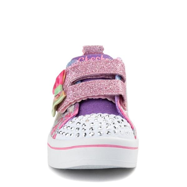 alternate view Skechers Twinkle Toes Twi-Lites Fairy Wishes Sneaker - Toddler - MultiALT4