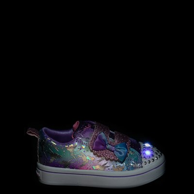 Alternate view of Skechers Twinkle Toes Twi-Lites Fairy Wishes Sneaker - Toddler