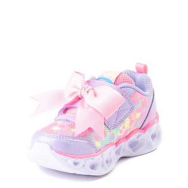 alternate view Skechers S Lights Hearts Sneaker - ToddlerALT3