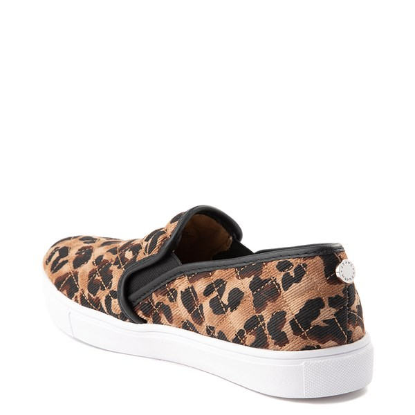 alternate view Womens Steve Madden Ecentrcq Slip On Casual Shoe - LeopardALT2