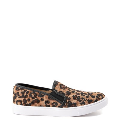 Main view of Womens Steve Madden Ecentrcq Slip On Casual Shoe - Leopard