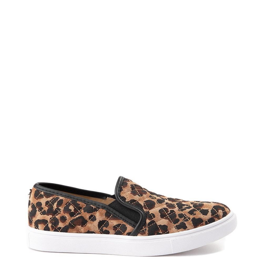 Womens Steve Madden Ecentrcq Slip On Casual Shoe - Leopard