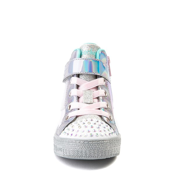 alternate view Skechers Twinkle Toes Sparkle Wings Hi Sneaker - Toddler - MultiALT4