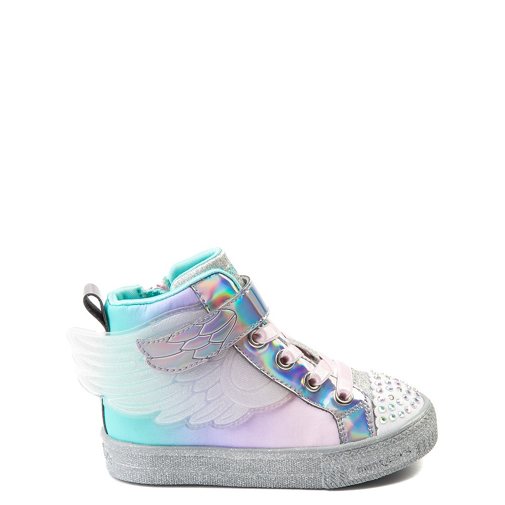 Skechers Twinkle Toes Sparkle Wings Hi Sneaker - Toddler - Multi
