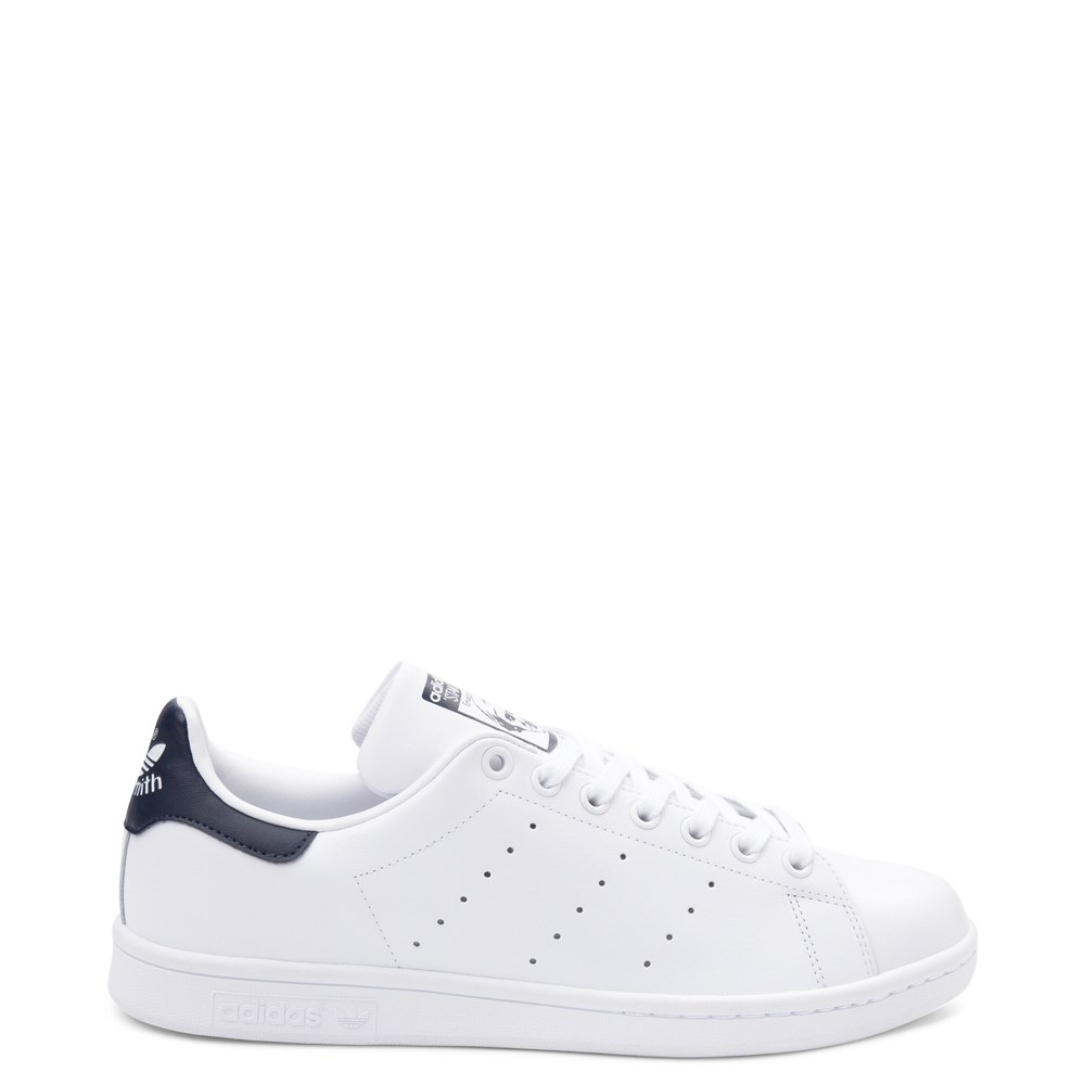 Womens adidas Stan Smith Athletic Shoe - White / Navy