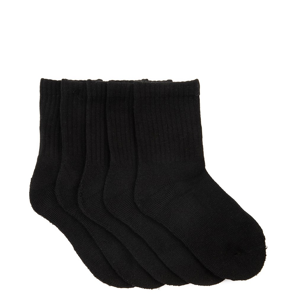 Basic Crew Socks 5 Pack - Toddler