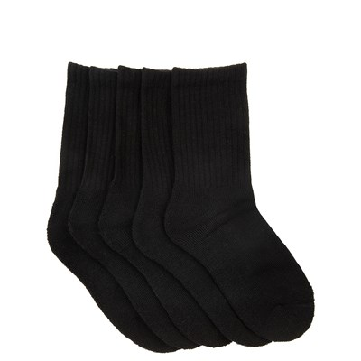 Main view of Youth Basic Crew Socks 5 Pack